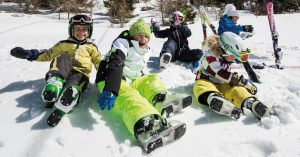 kids ski plagne centre rental republic